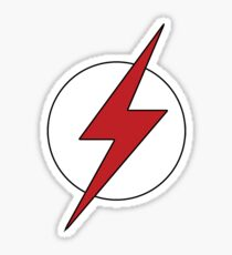 Flash / Kid Flash logo Young Justice Sticker