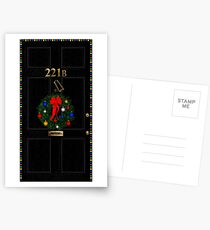 221 Before Christmas - turned knocker Postcards