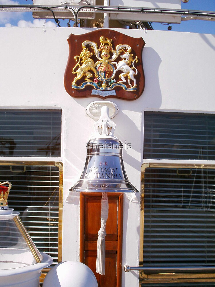 Bell on the Royal Yacht Britannia - Edinburgh by anaisnais