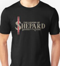 The Legend of Shepard - Mass Effect T-Shirt