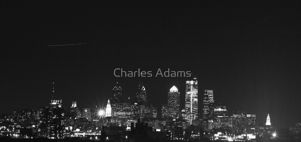 Downtown In the Dark by Charles Adams