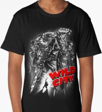 Wild City (B&W) Long T-Shirt