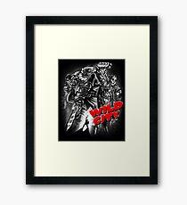 Wild City (B&W) Framed Print