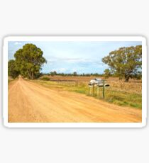 Country Mail Boxes.... Sticker