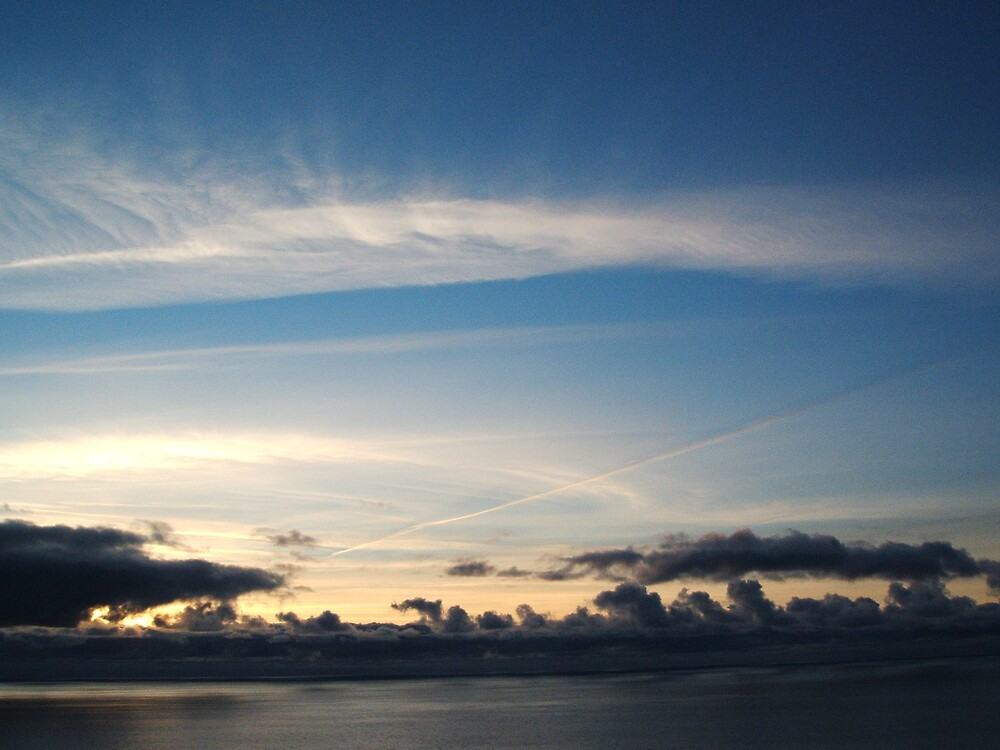 Anelog skyscape by Steven Frisby