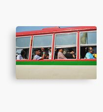 Bangkok Bus Canvas Print