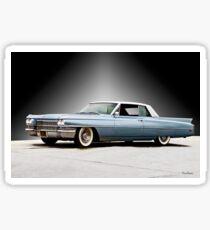 1962 Cadillac Coupe DeVille II Sticker
