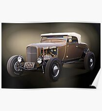 1929 Ford 'Sharp Equipped' Lakester Poster