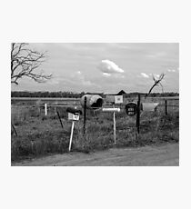 Country Letterboxes.... Photographic Print