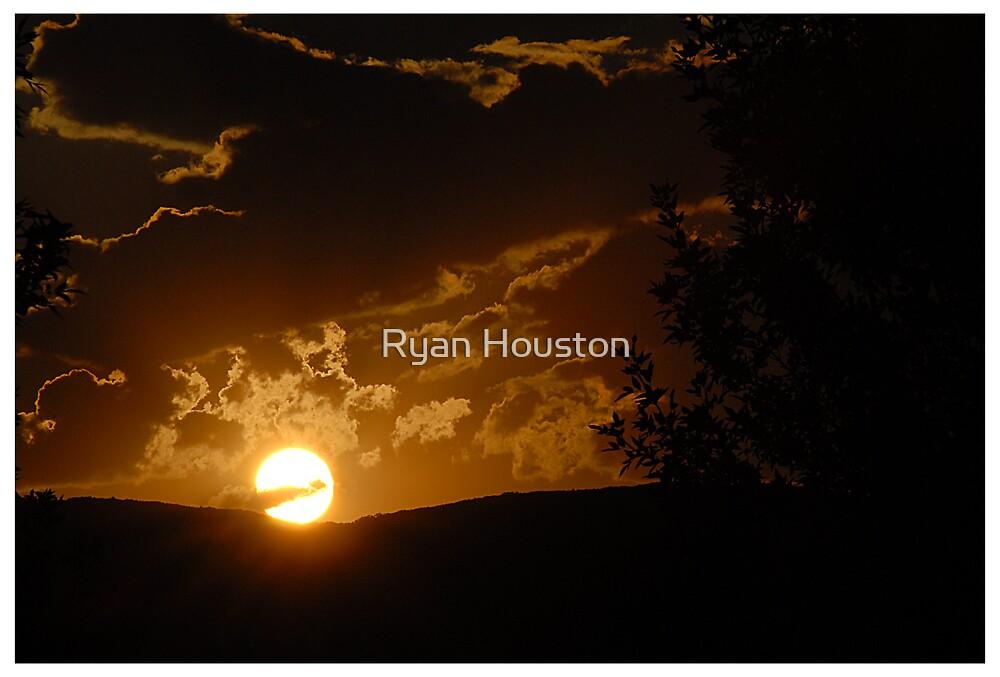 Alpine Sunset by Ryan Houston