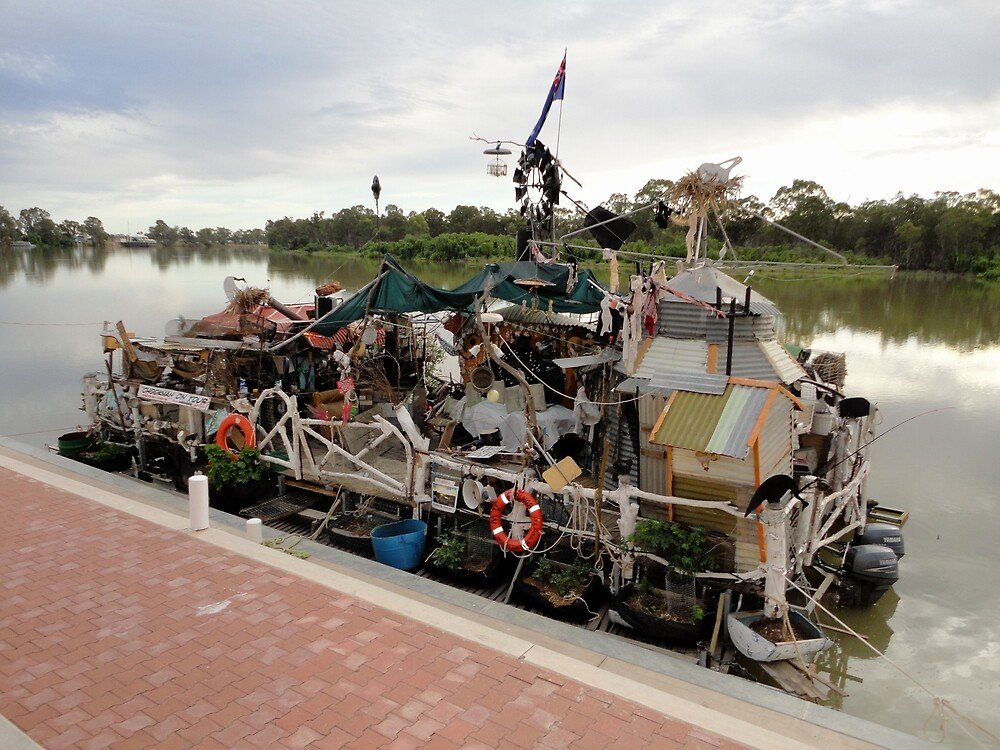 Unique Houseboat, Renmark, South Australia 2011 by muz2142