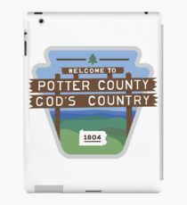 Potter County PA iPad Case/Skin