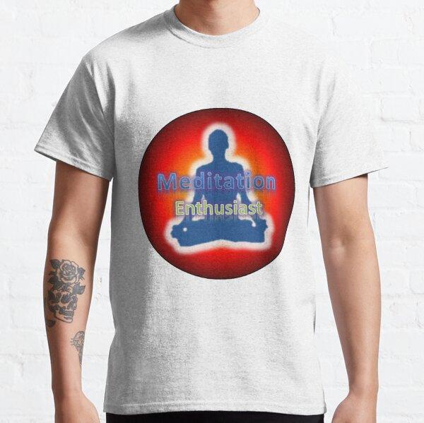 Meditation Enthusiast Logo Classic T-Shirt