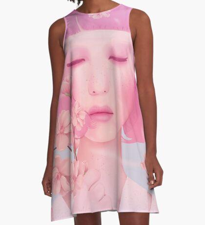 PASTELS A-Line Dress