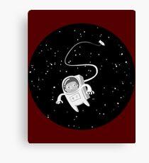 hamster astronaut Canvas Print