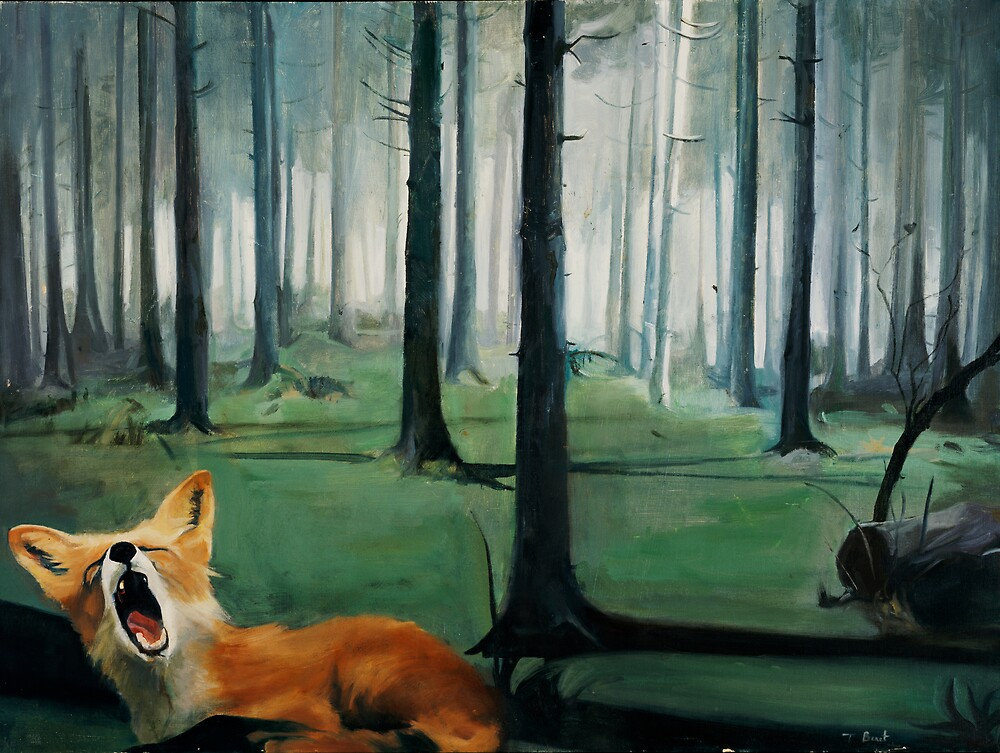The Fox by tarabenet