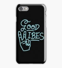 Good Vibes! -blue iPhone Case/Skin