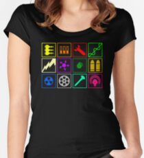 Quake 3 Arena - Arsenal Shirt Women's Fitted Scoop T-Shirt