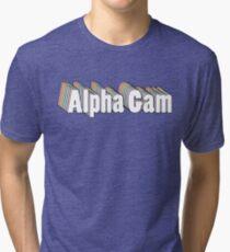Alpha Gam Colorful Tri-blend T-Shirt