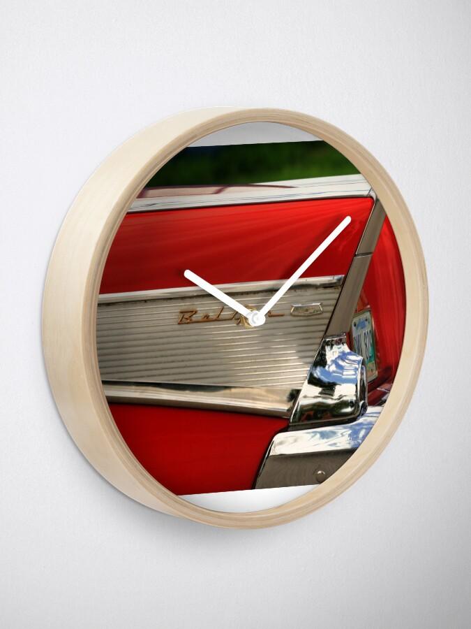 Alternate view of 57 Chevy BelAir Clock