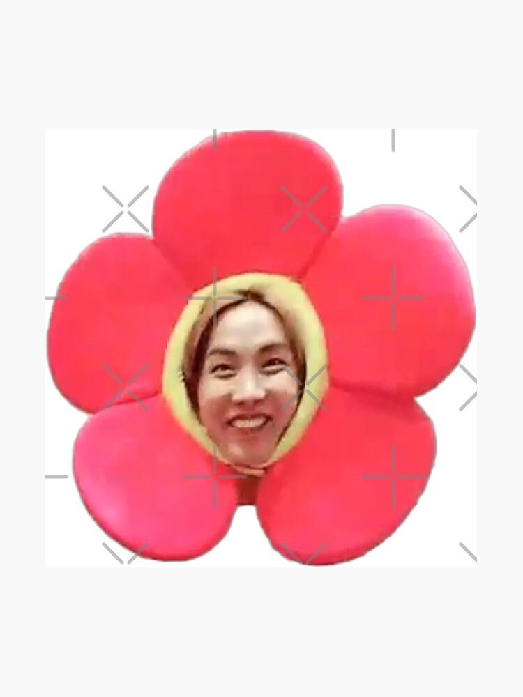 Jhope Chuseok Flower (negro) de Briana8