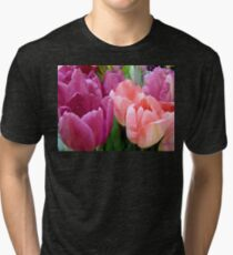 Tulip Time Tri-blend T-Shirt