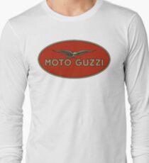 Moto Guzzi Retro Logo Long Sleeve T-Shirt