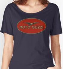 Moto Guzzi Retro Logo Women's Relaxed Fit T-Shirt