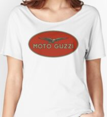 Moto Guzzi Retro Logo Women's Relaxed Fit T-Shirt