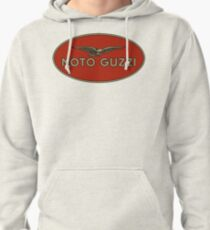 Moto Guzzi Retro Logo Pullover Hoodie