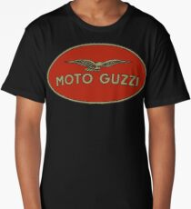 Moto Guzzi Retro Logo Long T-Shirt