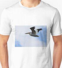 Flight of the Pelican Unisex T-Shirt