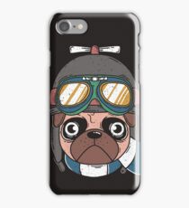 Captain Pug iPhone Case/Skin