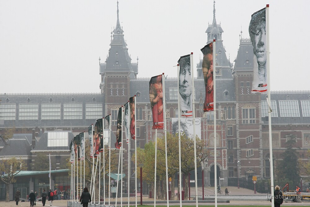 The Face of Flags by innatenigma