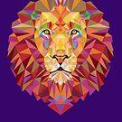Geometric Lion by EsotericExposal