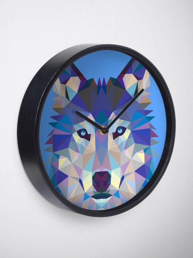 Vista alternativa de Reloj Lobo geométrico