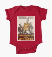 Labour Party Poster 1923 One Piece - Short Sleeve
