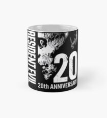 Resident Evil - 20th Anniversary With Anniversary Text Mug