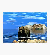 NA685-On Distant Shores Photographic Print