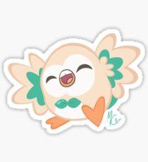 Happy Rowlet! Sticker