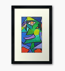 Stick Your Tongue In My Ear Framed Print