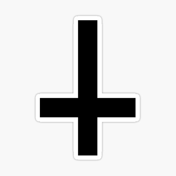 The Cross Sticker