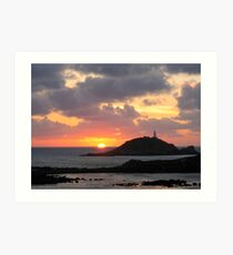 Scilly Sunset Art Print