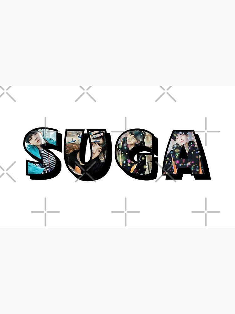 BTS Suga (Schwarz) von Infirez