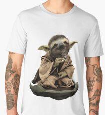 Inner Peace Sloth Yoda  Men's Premium T-Shirt