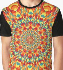 Summer Mandala 6 Graphic T-Shirt