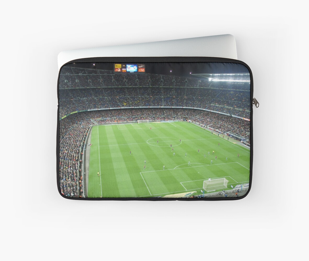 Camp Nou Crowded by Boy-With-Hat
