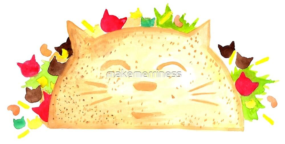 Taco Cat - By Merrin Dorothy by makemerriness