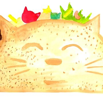 Taco Cat - By Merrin Dorothy by makemerriness