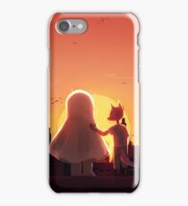 Under the forever rising/setting sun iPhone Case/Skin